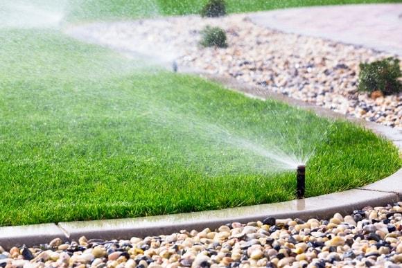 Lawn Sprinkler System by Bellantoni Landscape