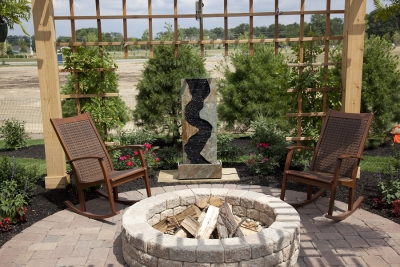 Outdoor Fire Pit Seating Ideas by Bellantoni Landscape