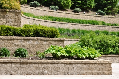Install a Retaining Wall by Bellantoni Landscape