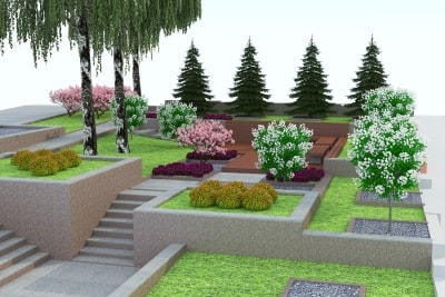 Backyard Landscape Designs by Bellantoni Landscape