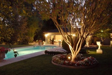 Landscape Lighting Installation by Bellantoni Landscape