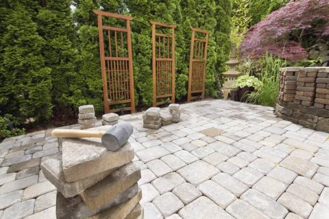 Pathways and Stone Pavers